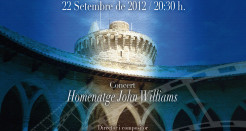 John Williams en el Castell de Bellver