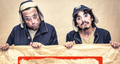 Fràgil: clown familiar al Teatre Sans