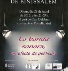Banda sonora, un efecte de pel·lícula, a la fresca a Binissalem