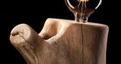 LA LUZ DE ÁNGELA: exposición de luz y madera