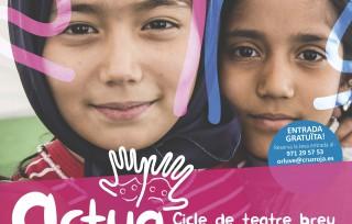 ACTUA, jornades pels drets humans amb teatre breu, conta contes i mercadet solidari a la Misericòrdia de Palma