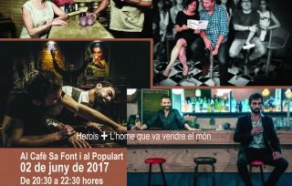 Teatre de barra, sessió continua: nova fórmula per a un vespre diferent (places limitades)