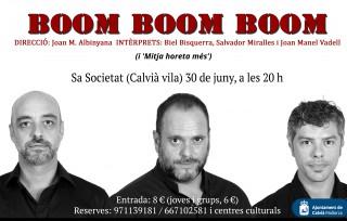 Boom boom boom a Calvià