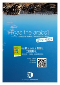 gas the arabs_poster