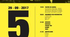 Teatre de barra cinèfil per celebrar el 5è aniversari del CineCiutat
