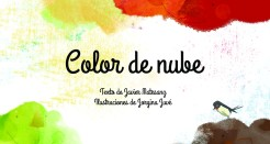 Color de nube, un cuento ideal para estas navidades