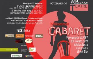 2×1: oferta d'estrena al Teatre de Barra: Willkommen Cabaret