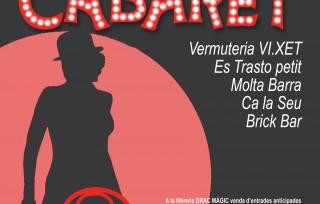 Nueva edició del Teatre de Barra: Willkommen Cabaret. Estrena el 22 de febrero als bars de Canamunt