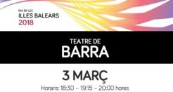 Teatre de Barra a la Diada de les Illes Balears
