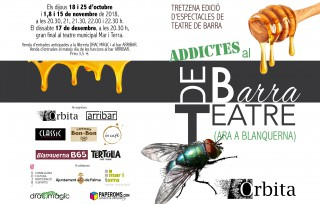 Ja a la venda les entrades de la Final de Addictes al Teatre de Barra al Teatre Mar i Terra (17 novembre 2018)