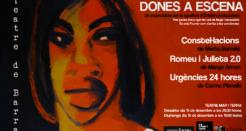 Dones a escena: teatre de barra per la igualtat al Mar i Terra