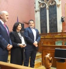 Maria Magdalena Gelabert i Francesc Company, guanyadors dels Premis Mallorca de Creació Literària