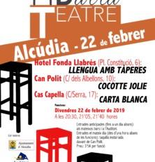 El Teatre de Barra arriba per primer cop a Alcúdia
