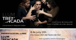 Presentació del llibre Llum trencada al Teatre del Mar