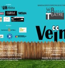 Arriba la nova edició del Teatre de Barra dedicada als Veïnats (estrena dijous 10 d'octubre)