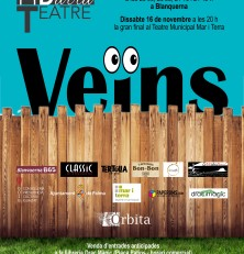 Ja a la venda les entrades de la  «Final 15è Concurs de Teatre de Barra» organitzat per ÒRBITA PRODUCCIONS
