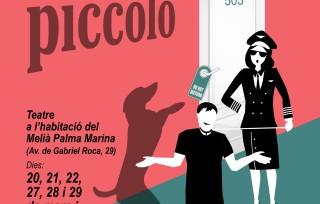 Píccolo, una comèdia dels creadors de Teatre de Barra, ara a l'habitació d'un hotel