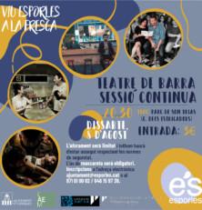 Sessió continua del Teatre de Barra a Esporles aquest dissabte