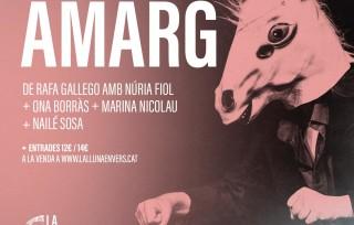 Torna Amarg després del llarg confinament: dijous 13, Binissalem; divendres 14, Teatre Romà d'Alcúdia
