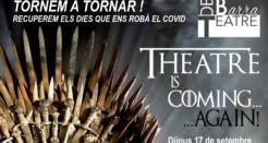 Ja a la venda les entrades del RETORN  de les sèries del Teatre de Barra.